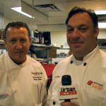 executive  Chef Joe Farina and Masimino Rubino at